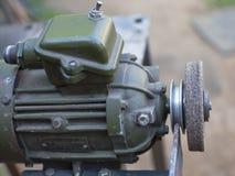 Elektryczne szlifierskiej maszyny metalu części Fotografia Stock