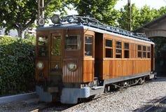 elektrycznego formata surowy pociąg Fotografia Royalty Free