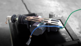 Elektrycznego prądu Samochodowy kędziorek Zdjęcia Stock