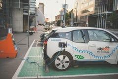 Elektrycznego samochodu bmw i3 Fotografia Stock