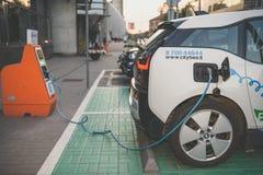 Elektrycznego samochodu bmw i3 Zdjęcia Stock