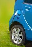 Elektrycznego samochodu plombowanie Zdjęcia Royalty Free