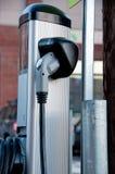 Elektrycznego samochodu stacja paliwowa Obraz Royalty Free