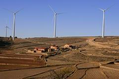 elektrycznej energii mali zaopatrzeniowi wiatraczki obrazy stock