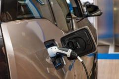 Elektrycznej prymki elektryczny ładunek BMW i3 Zdjęcia Royalty Free
