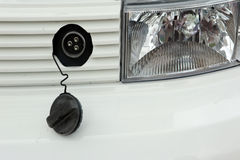 elektrycznej prymki s pojazd Zdjęcie Royalty Free