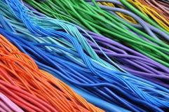 Elektryczni kable i druty Zdjęcie Stock