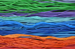 Elektryczni kable i druty Fotografia Stock