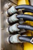 Elektryczni kablowi gruczoły Obraz Royalty Free