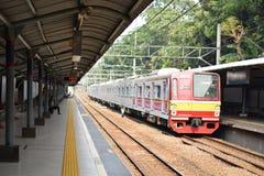 elektryczni pociągi obrazy stock