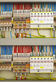Elektryczni terminale i druty Obraz Royalty Free