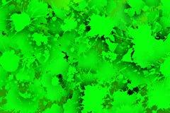 Elektryczni zieleni stais z cieniami Obrazy Stock