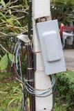 Elektryczność łamacza pudełko obrazy stock
