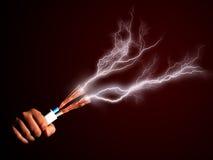 Elektryczność. fotografia royalty free