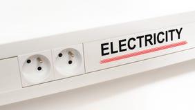 elektryczność obrazy stock