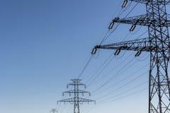 Elektryczność filar Zdjęcie Royalty Free