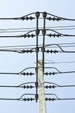 Elektryczność izolator Obrazy Royalty Free