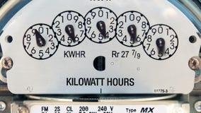 Elektryczność metr (upływ) zbiory