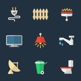 Elektryczność, ogrzewanie, woda i inne użyteczność, Zdjęcie Stock