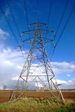 elektryczność pilon Zdjęcie Stock