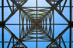 Elektryczność pilon Obrazy Royalty Free