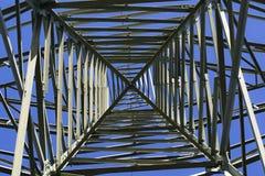 Elektryczność pilonu tekstura Zdjęcia Stock