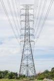 Elektryczność pilony obraz stock