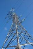 Elektryczność przekaz Obraz Royalty Free