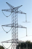 Elektryczność słup Zdjęcie Stock