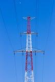 Elektryczność słup Obraz Royalty Free