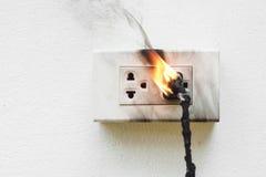 Elektryczność skrót - obwód obraz stock