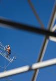 Elektryczność technik Zdjęcie Royalty Free