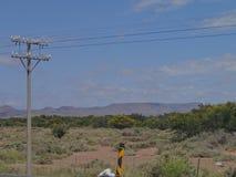 Elektryczność w Południowa Afryka obrazy royalty free