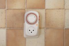 Elektryczność zegar Zdjęcia Royalty Free