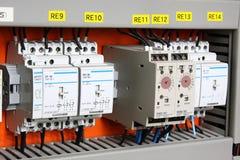 elektryczności automatyczny switcher zdjęcia stock