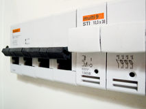 elektryczności automatyczny switcher obraz royalty free