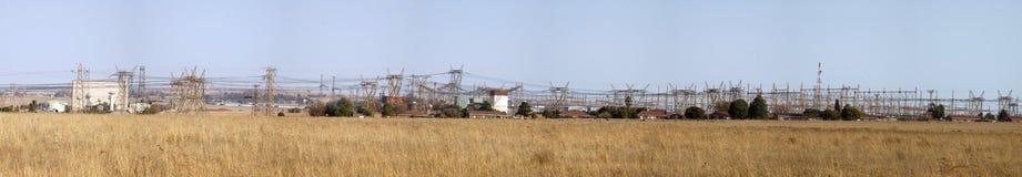 Elektryczności elektrownia, Południowa Afryka Obrazy Stock