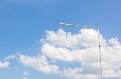 Elektryczności plenerowy światło reflektorów Obraz Royalty Free