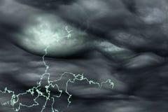 Elektryczności rozjaśniać Obrazy Stock