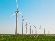 elektryczności wywołujący turbina wiatr Obraz Royalty Free