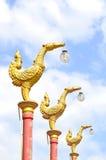 elektryczności antyczna ptasia poczta Zdjęcia Royalty Free