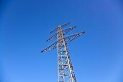elektryczności energetyczny nieba wierza Zdjęcie Stock
