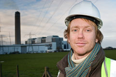 elektryczności lidera pilon Zdjęcie Royalty Free