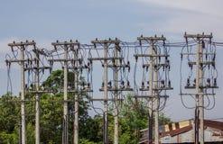 Elektryczności poczta Obrazy Stock