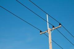 Elektryczności poczta Obraz Stock
