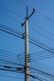 Elektryczności poczta Zdjęcie Stock