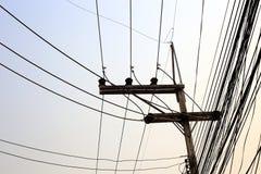 Elektryczności poczta Fotografia Stock