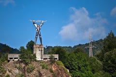 elektryczności statua Zdjęcia Stock