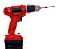 elektryczny śrubowy śrubokręt Obrazy Royalty Free