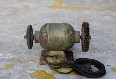 Elektryczny śrutowanie kamień Obrazy Royalty Free